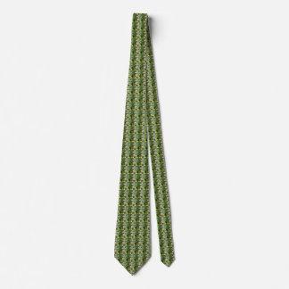 BORAGE Blue Pink Green - ECHO PRINT --- Tie
