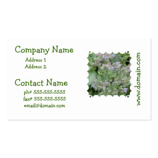 Borage Double-Sided Standard Business Cards (Pack Of 100)