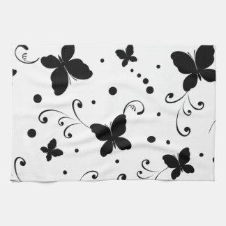 borboletas de COM del padrão Toalla De Mano