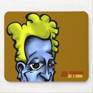 Bord, Jon Griffin, Art & Design Mouse Mat