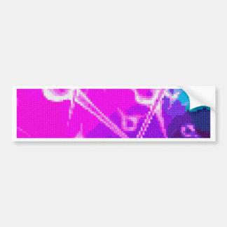 bordado abstracto pegatina para auto