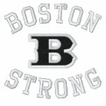 Bordado bordado fuerte de Boston B Sudadera Bordada Personalizada