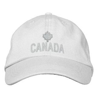 Bordado canadiense Canadá de la hoja de arce Gorra De Beisbol Bordada
