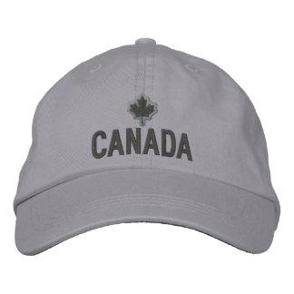 Bordado canadiense Canadá de la hoja de arce Gorra De Béisbol