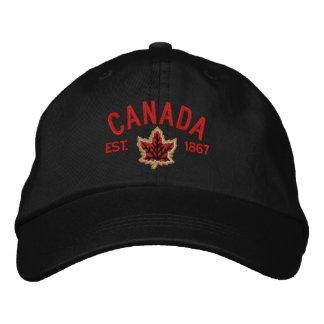 Bordado canadiense Canadá del aniversario Gorro Bordado