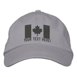Bordado canadiense grande personalizado de la band gorro bordado