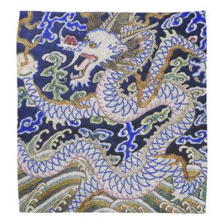 Bordado chino del dragón bandanas