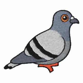 Bordado de la paloma de roca