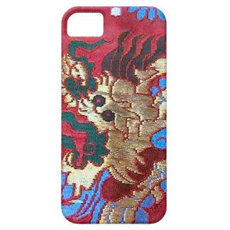 Bordado de seda chino, Singapur iPhone 5 Carcasas
