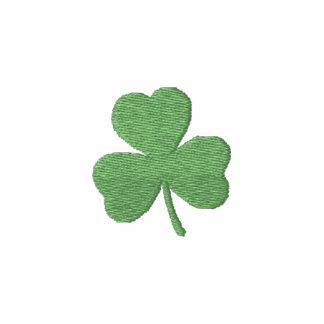 Bordado del día de St Patrick verde de la cerveza Sudadera Bordada Con Capucha