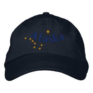 Bordado del diseño de la bandera del estado de gorras de béisbol bordadas