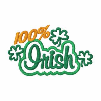 bordado del irlandés del 100