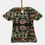 Bordado del rumano del vintage ornamento de navidad