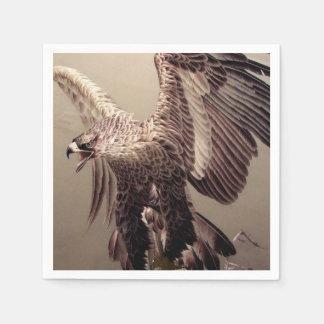 Bordado Eagle Servilletas Desechables