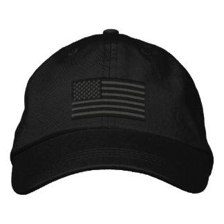 Bordado grande de los E.E.U.U. de la bandera Gorra De Béisbol Bordada