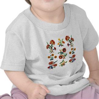 Bordado jacobeo tradicional de Monmouth Camiseta
