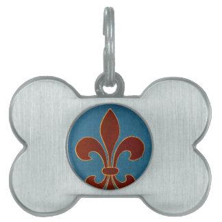 Bordado medieval placas mascota