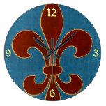 Bordado medieval reloj