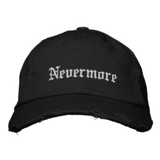 Bordado nunca más - personalice gorra de beisbol bordada