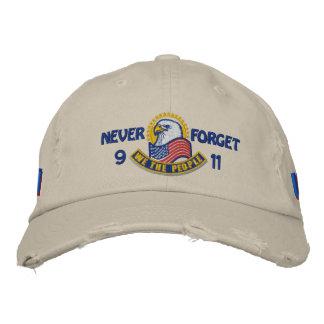 Bordado patriótico gorra de beisbol bordada