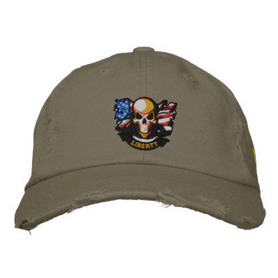Bordado patriótico gorras de béisbol bordadas