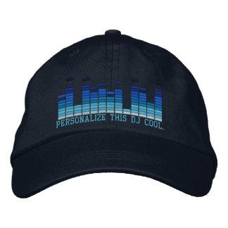 ¡Bordado personalizado 4 del equalizador DJ en Gorras Bordadas