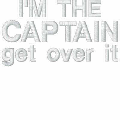 Bordado - soy el capitán. Consiga sobre él - diver Sudadera Con Serigrafia