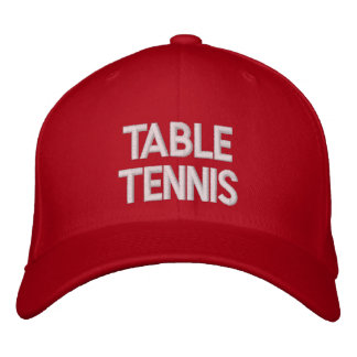 ★★★★★ bordado tenis de mesa del casquillo… gorra de beisbol