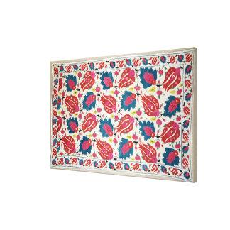 Bordado, turco (materia textil) impresión en lienzo