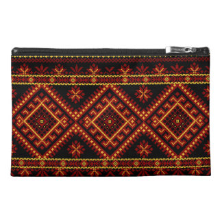 Bordado ucraniano de encargo Zippered bolso