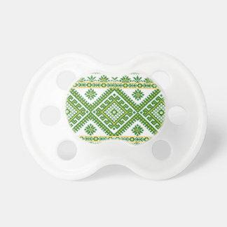 Bordado ucraniano de la impresión de Soother del p Chupetes Para Bebes