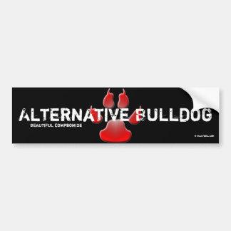 Bordador alternativa Bulldog Pegatina De Parachoque