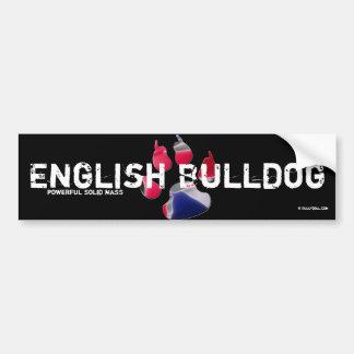 Bordador Bulldog Inglesa Pegatina Para Auto