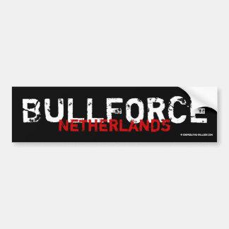 Bordador Bullforce Pegatina Para Auto
