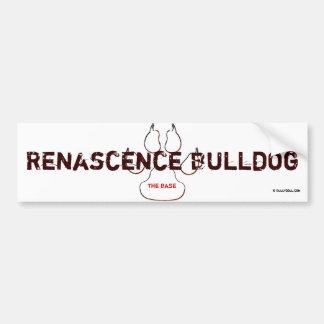 Bordador Renascence Bulldog Pegatina Para Auto
