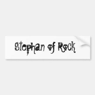 "Bordador ""Stephan of rock "" Pegatina Para Auto"