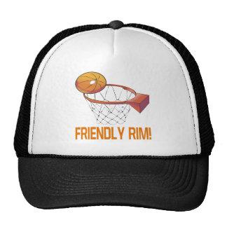 Borde amistoso gorra