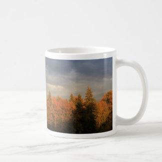 Borde de bosque taza de café