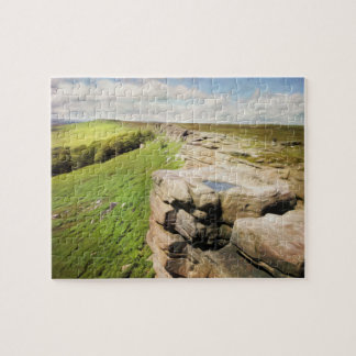 Borde de Derbyshire Stanage Puzzle
