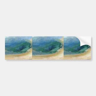 Borde de Juan Twachtman- de la piscina esmeralda,  Etiqueta De Parachoque