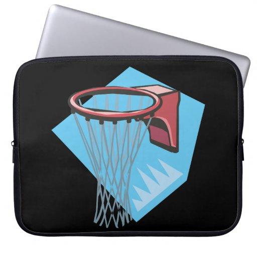 Borde del baloncesto fundas portátiles