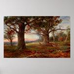 Borde del bosque de Sherwood Posters