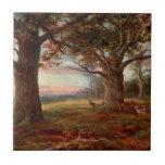 Borde del bosque de Sherwood Tejas Cerámicas