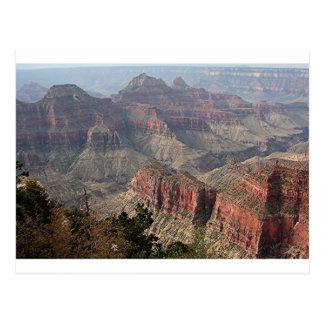 Borde del norte del Gran Cañón, Arizona, los Tarjeta Postal