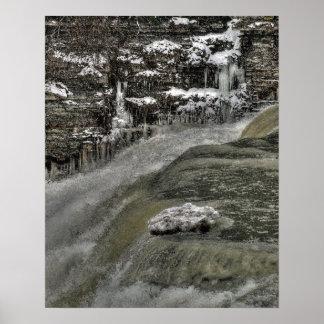 Borde del poster del abismo