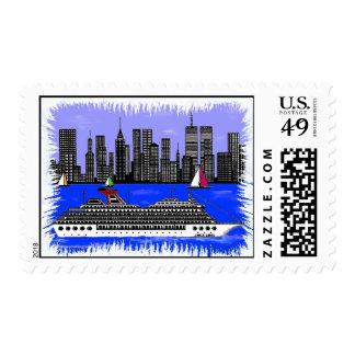 Borde del sello de la ciudad