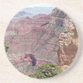 Borde del sur del Gran Cañón, Arizona 2 Posavasos Para Bebidas