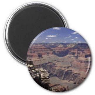 Borde del sur del Gran Cañón en Arizona Imán Redondo 5 Cm