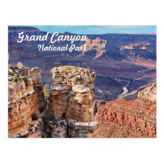 Borde del sur del parque nacional del Gran Cañón Postal