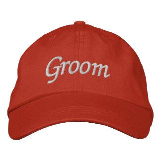 Borde el casquillo del gorra el | del novio de los gorros bordados